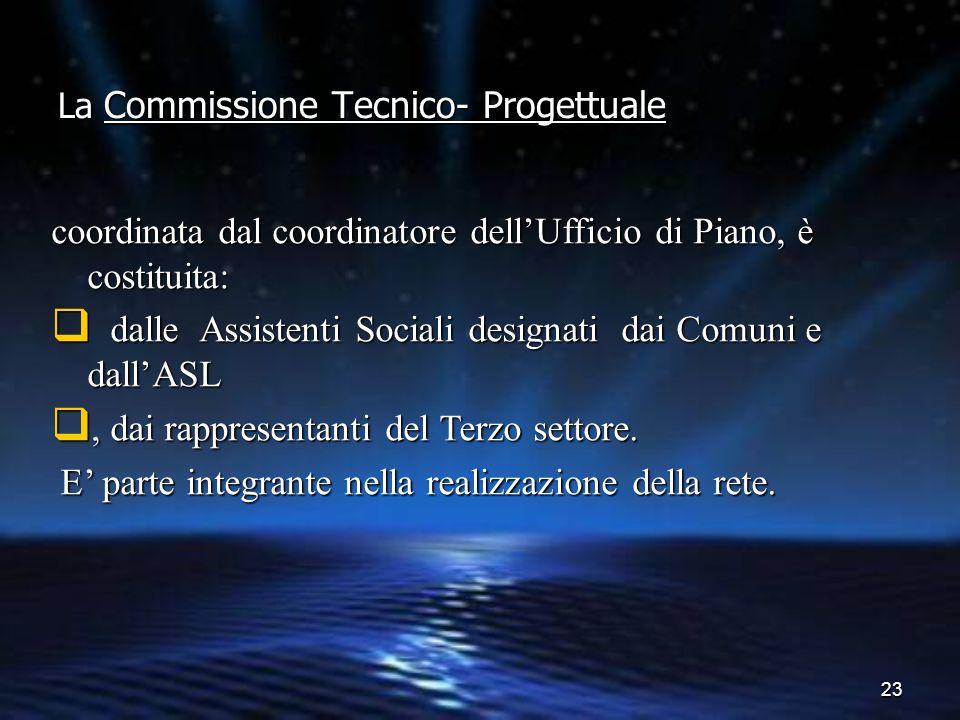 La Commissione Tecnico- Progettuale