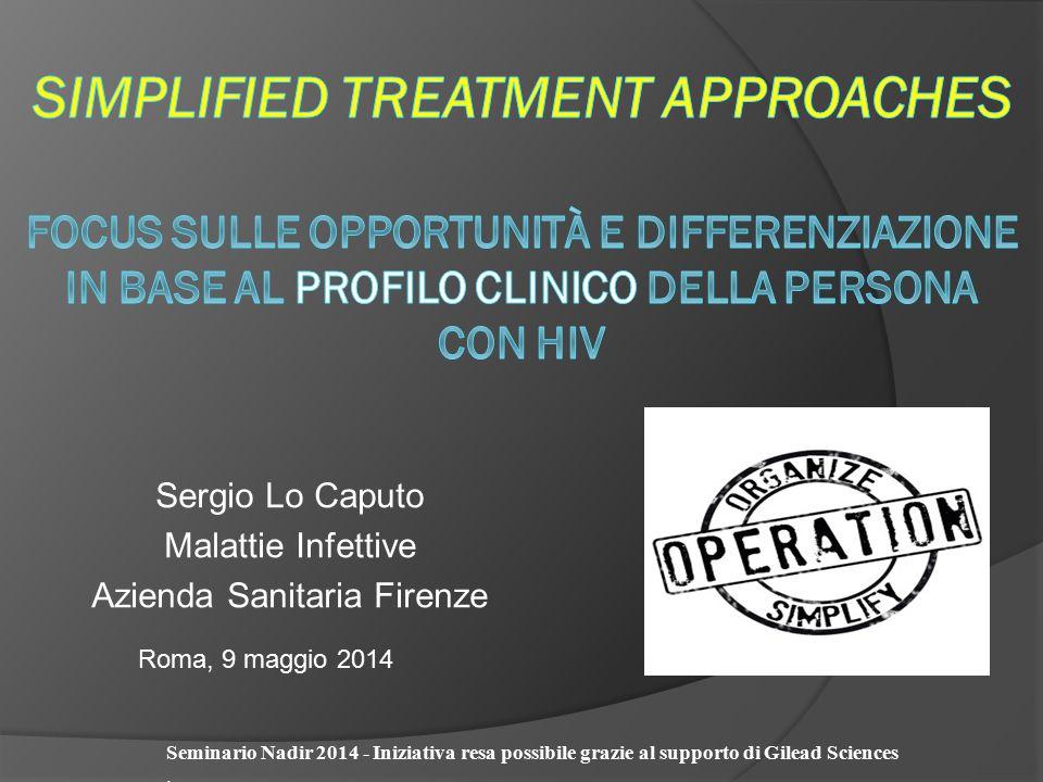 Sergio Lo Caputo Malattie Infettive Azienda Sanitaria Firenze