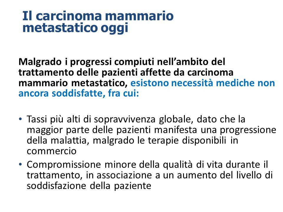 Il carcinoma mammario metastatico oggi