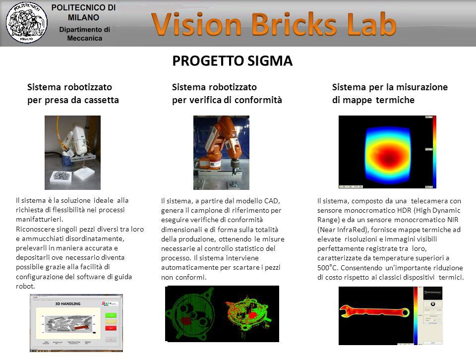 Vision Bricks Lab PROGETTO SIGMA Sistema robotizzato