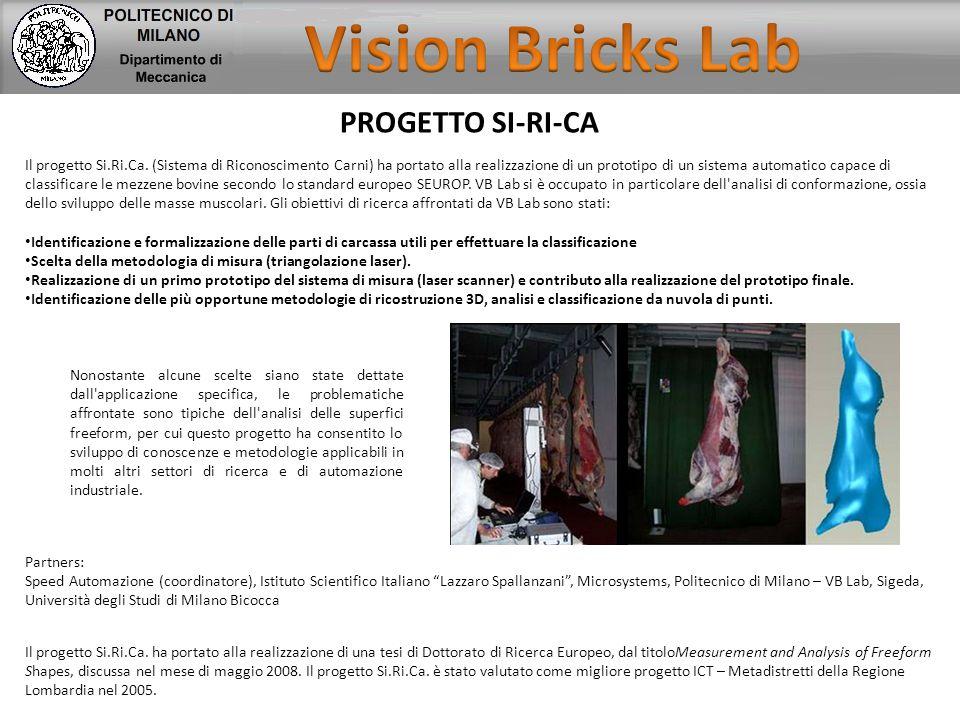 Vision Bricks Lab PROGETTO SI-RI-CA