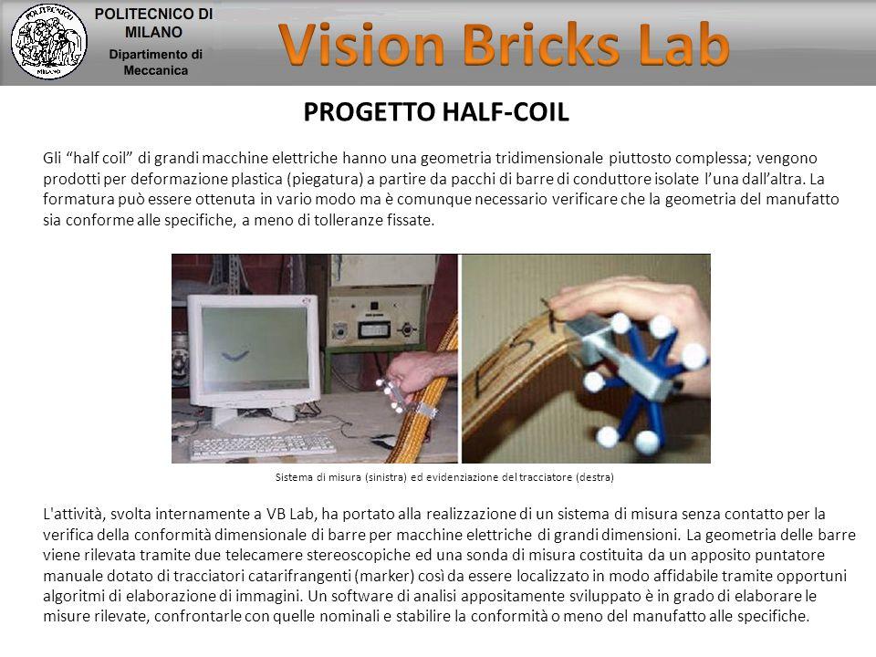 Vision Bricks Lab PROGETTO HALF-COIL