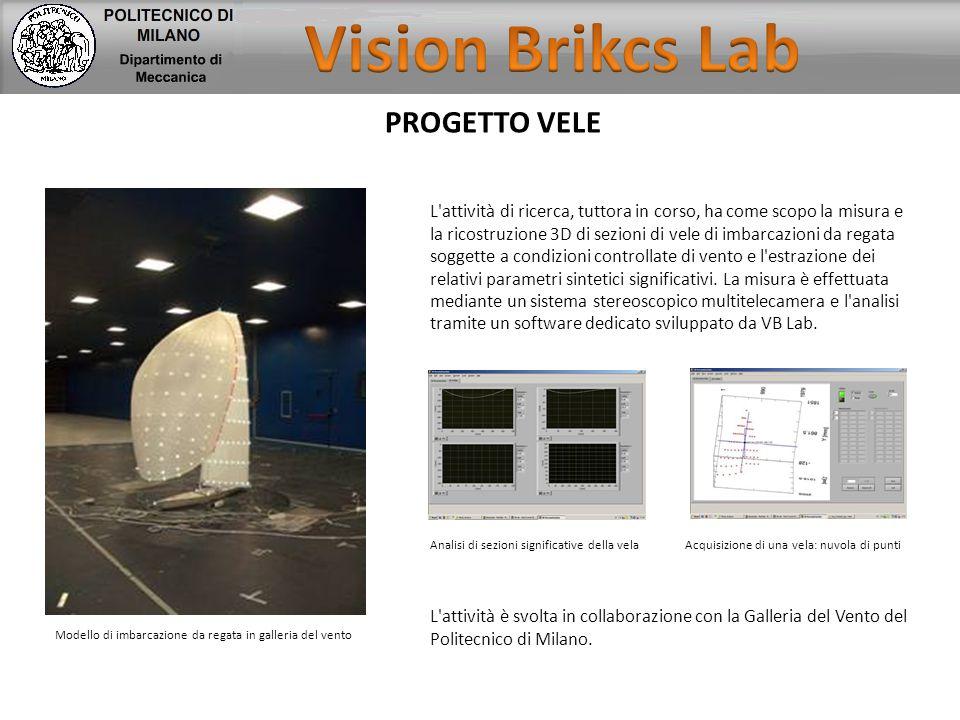 Vision Brikcs Lab PROGETTO VELE