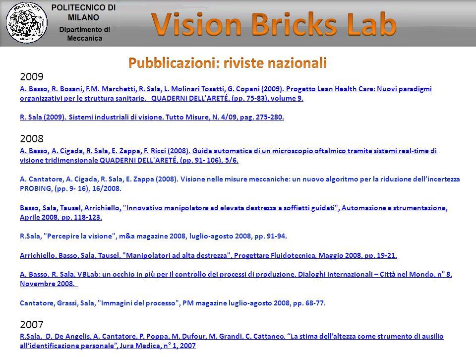Pubblicazioni: riviste nazionali