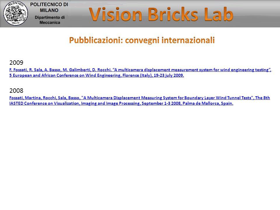 Pubblicazioni: convegni internazionali