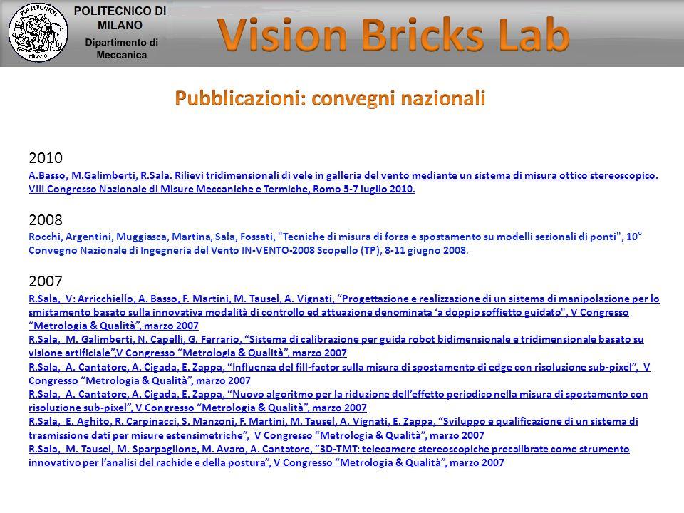 Pubblicazioni: convegni nazionali