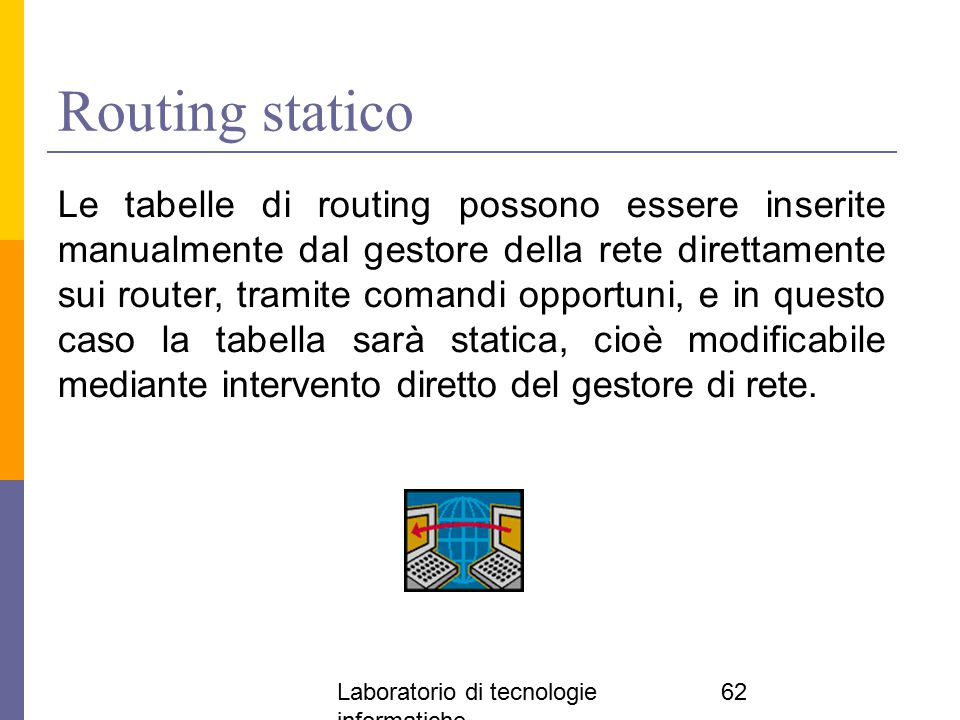 Routing statico