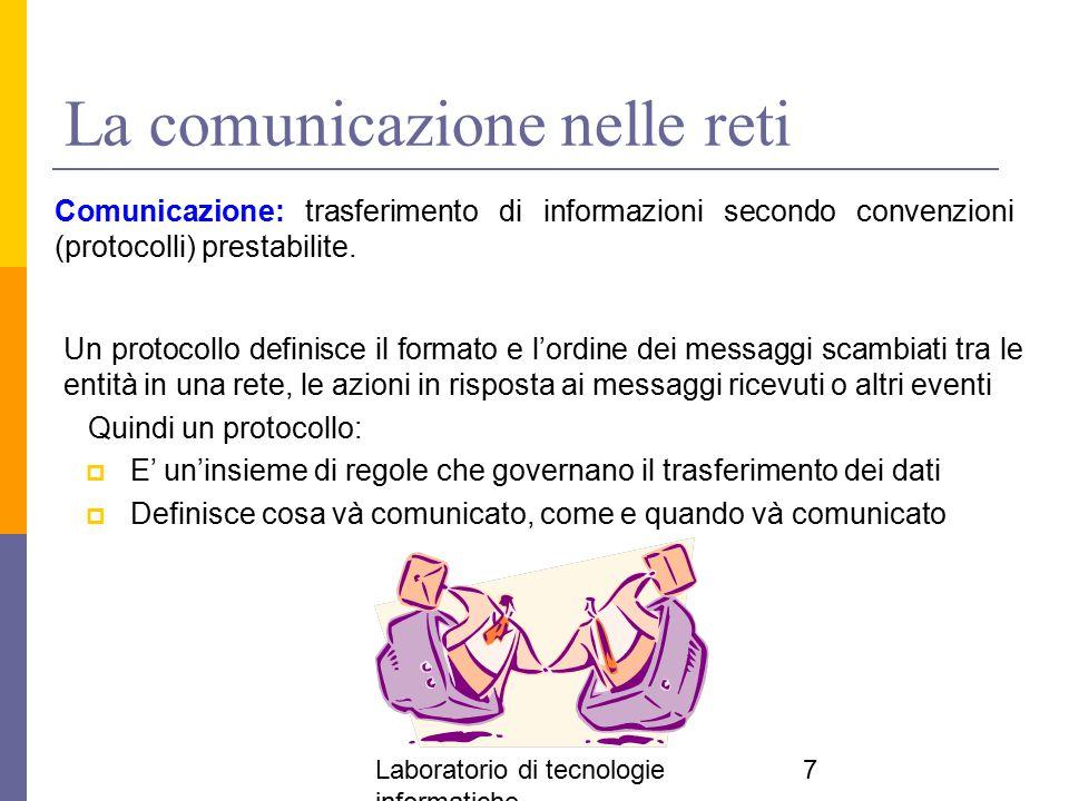 La comunicazione nelle reti