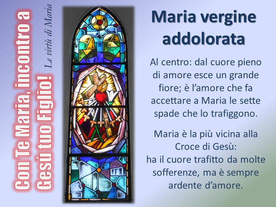 Maria vergine addolorata