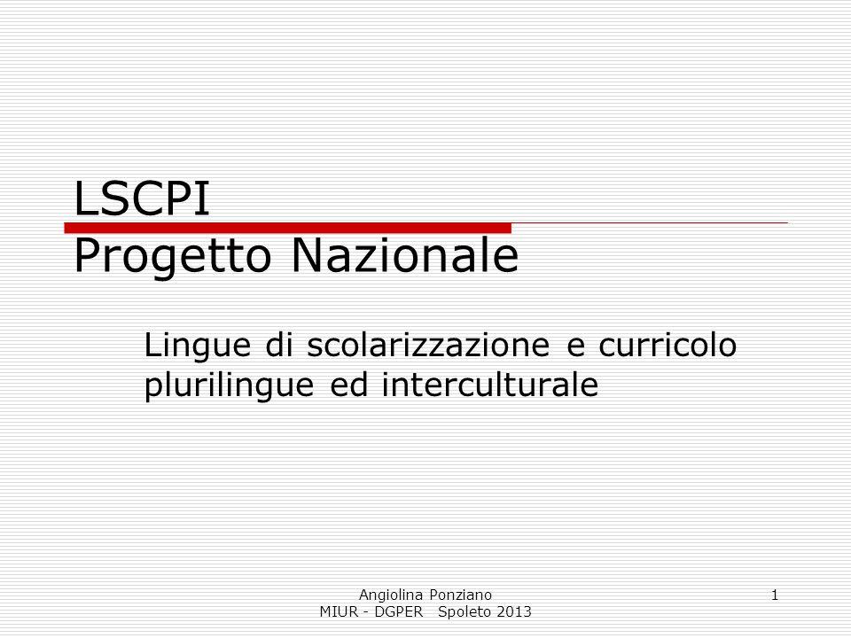 LSCPI Progetto Nazionale
