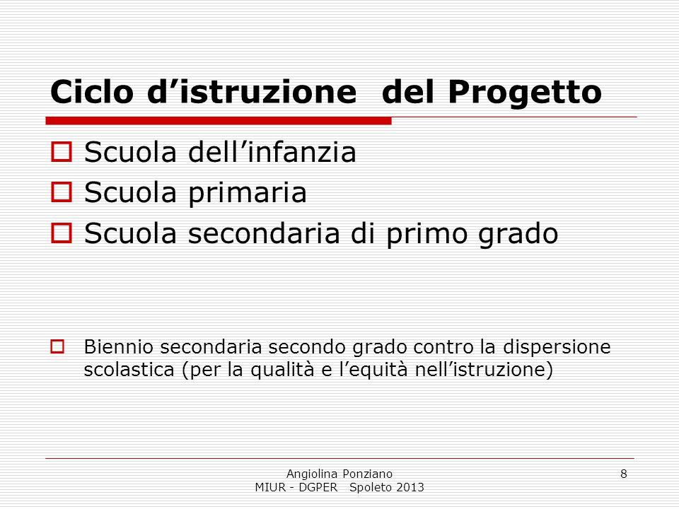 Ciclo d'istruzione del Progetto