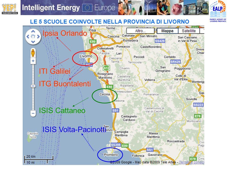 Ipsia Orlando ITI Galilei ITG Buontalenti ISIS Cattaneo