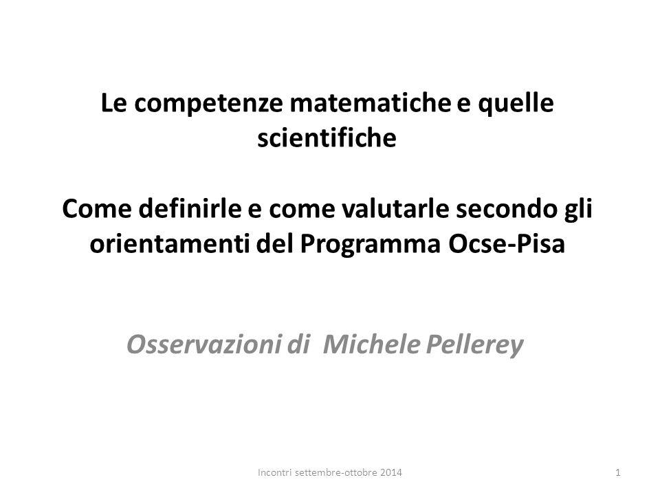 Osservazioni di Michele Pellerey