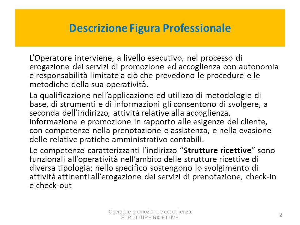 Descrizione Figura Professionale