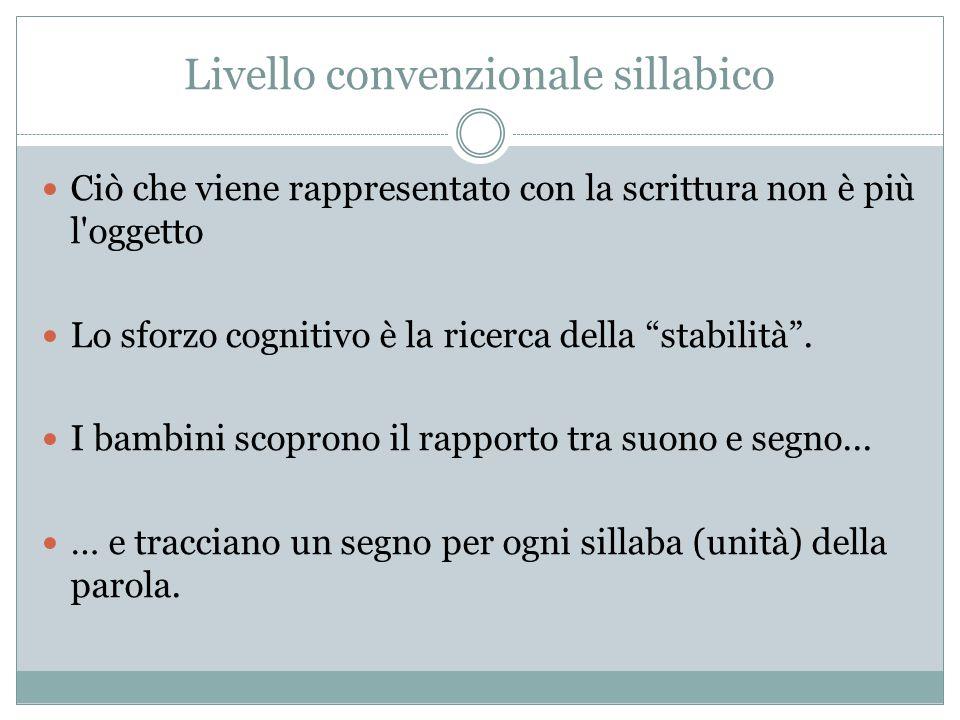 Livello convenzionale sillabico