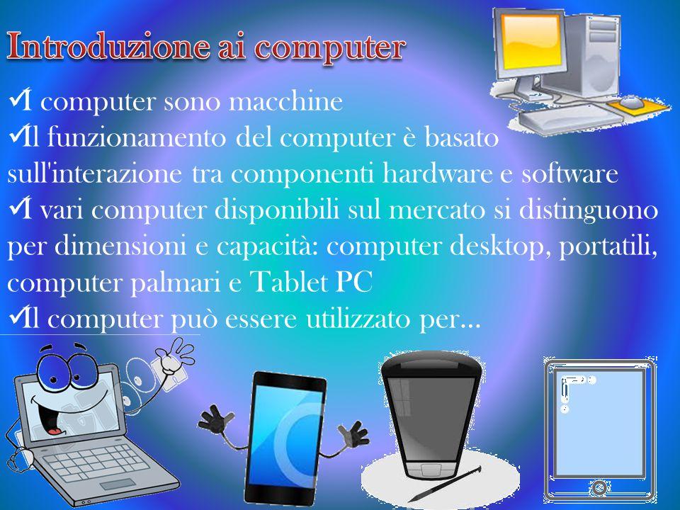 Introduzione ai computer
