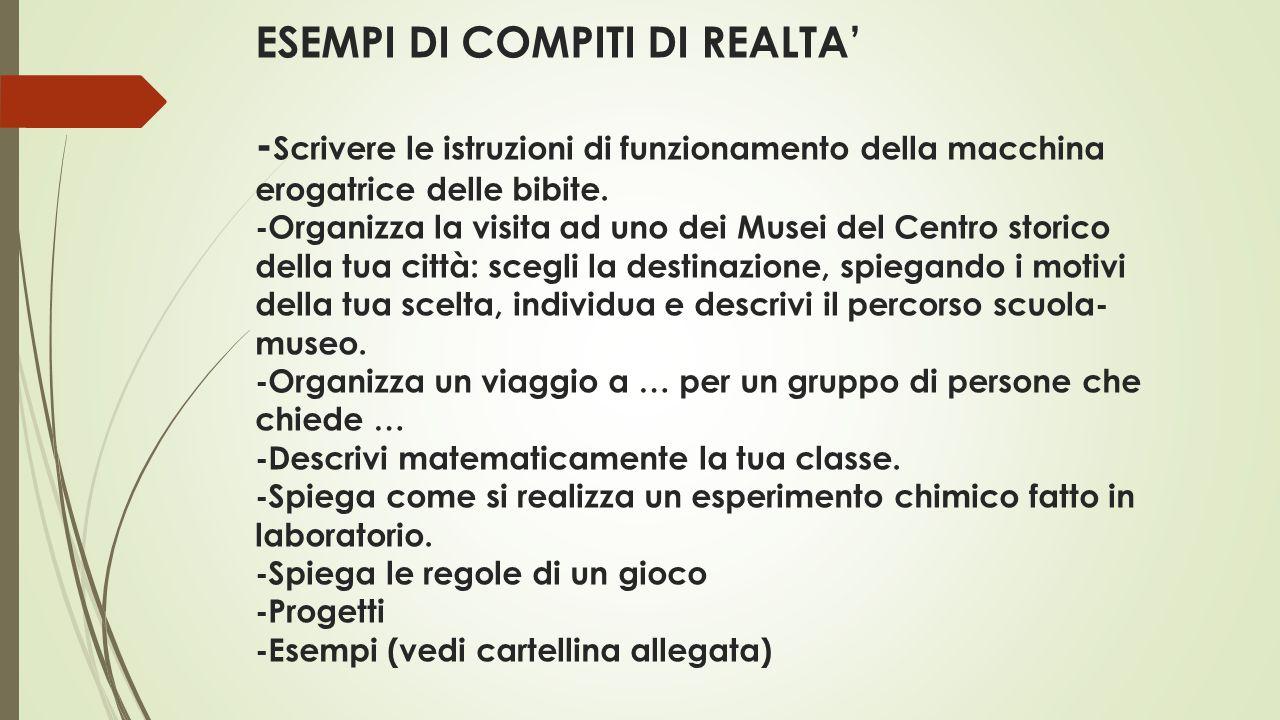 Estremamente COMPITI DI REALTA' ISTITUTO COMPRENSIVO DI COSSATO - ppt video  DR55