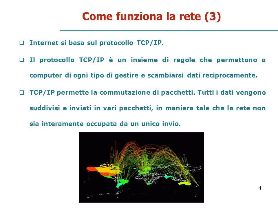 Come funziona la rete (3)