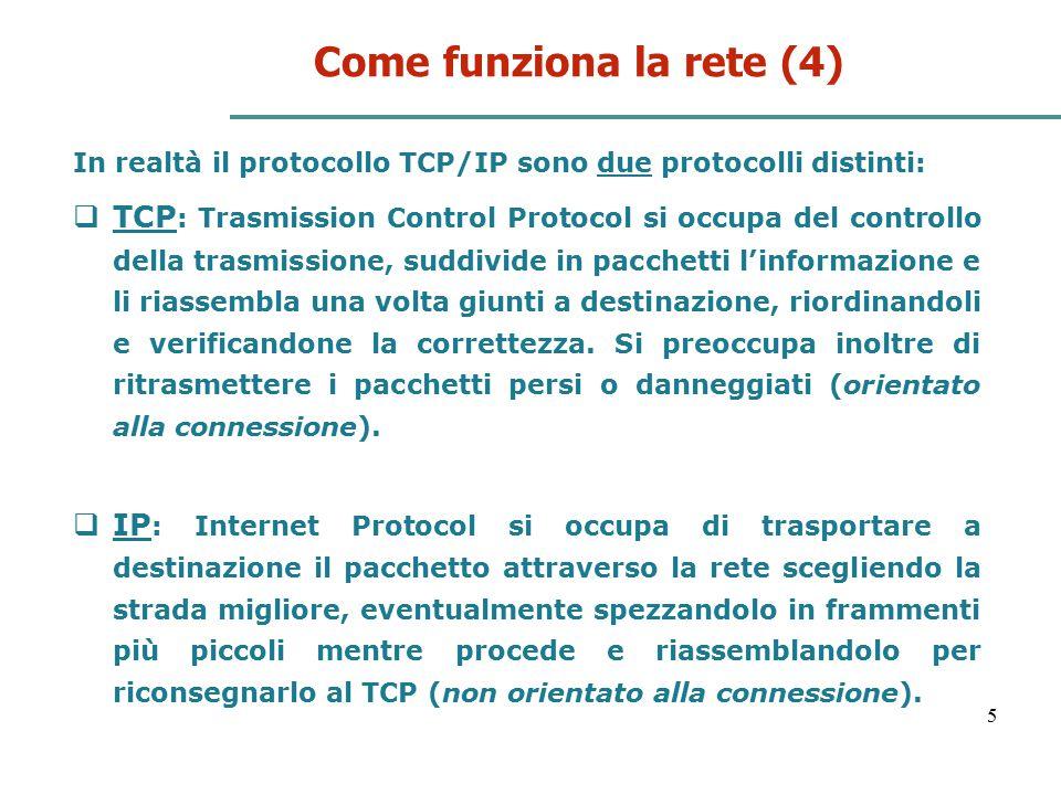 Come funziona la rete (4)