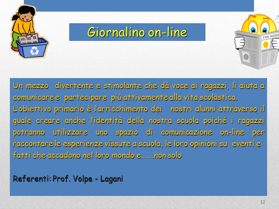 Giornalino on-line