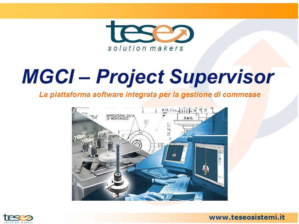 MGCI – Project Supervisor