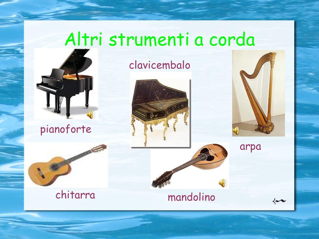 Altri strumenti a corda