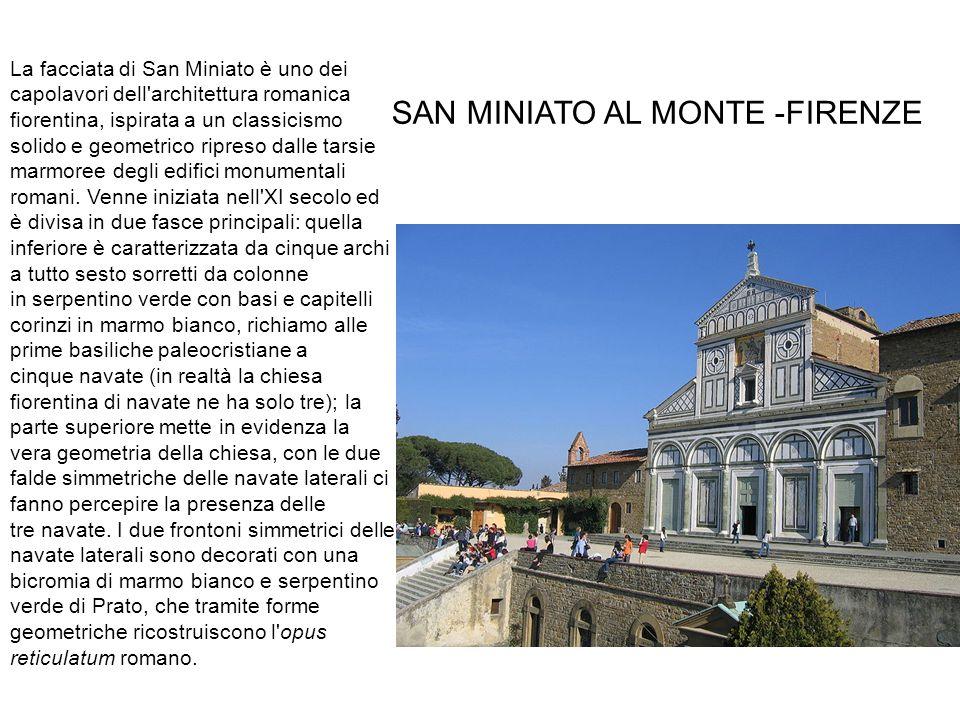 SAN MINIATO AL MONTE -FIRENZE SAN MINIATO AL MONTE_ FIRENZE