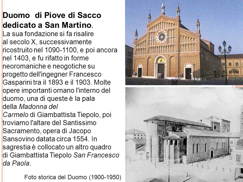 Duomo di Piove di Sacco dedicato a San Martino.