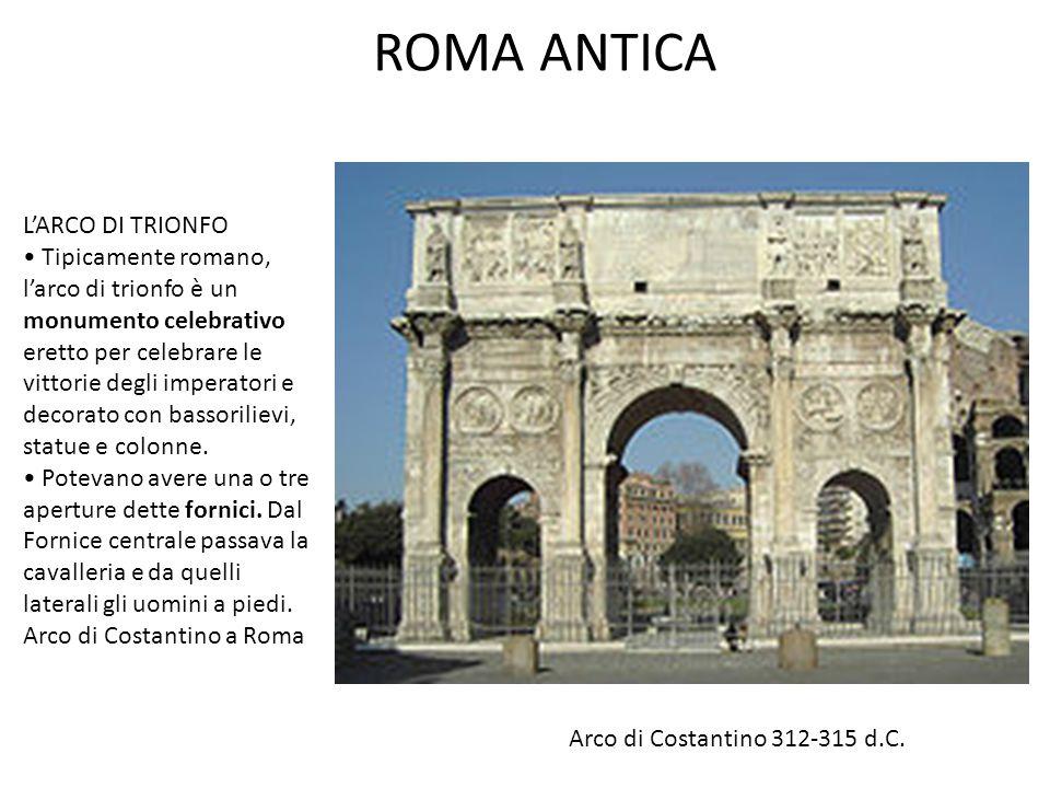 ROMA ANTICA L'ARCO DI TRIONFO • Tipicamente romano,