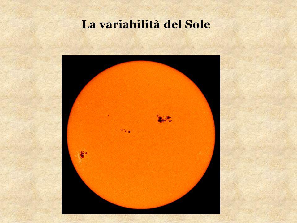 La variabilità del Sole