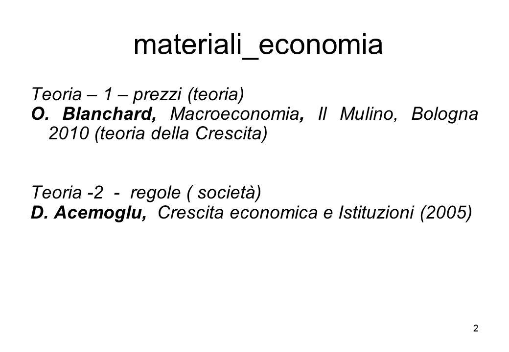 materiali_economia Teoria – 1 – prezzi (teoria)