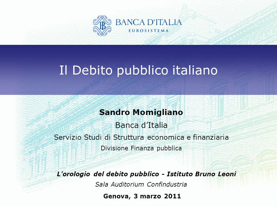 Il Debito pubblico italiano
