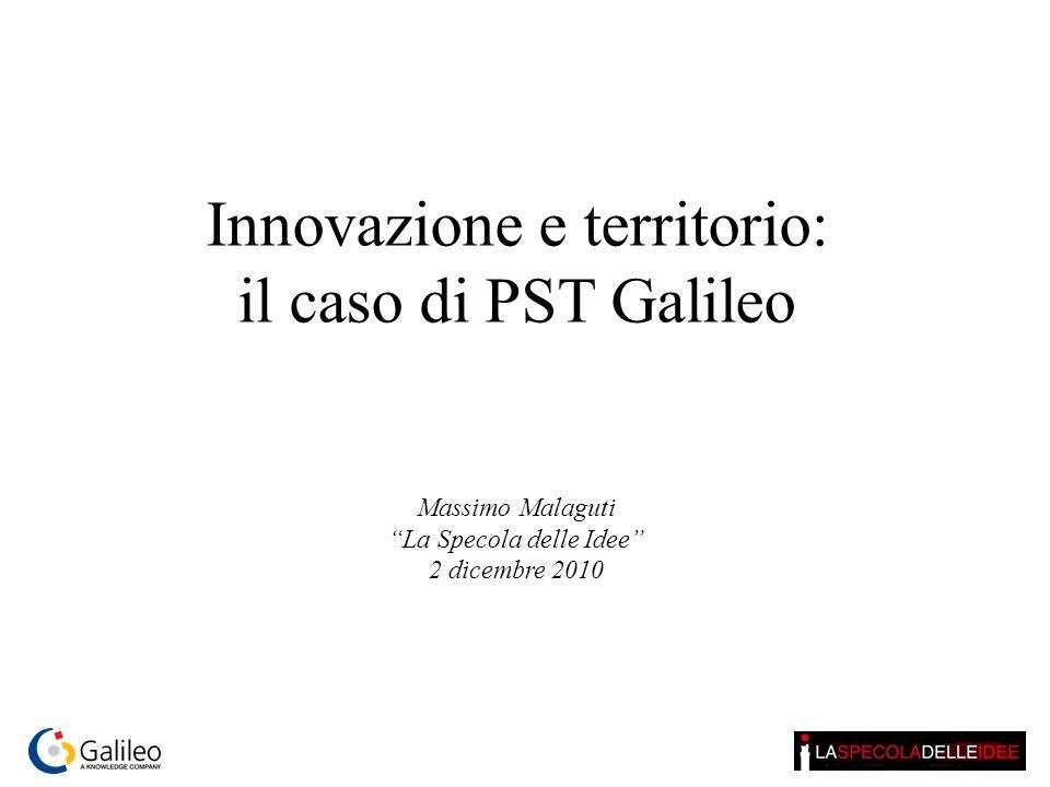 Innovazione e territorio: il caso di PST Galileo