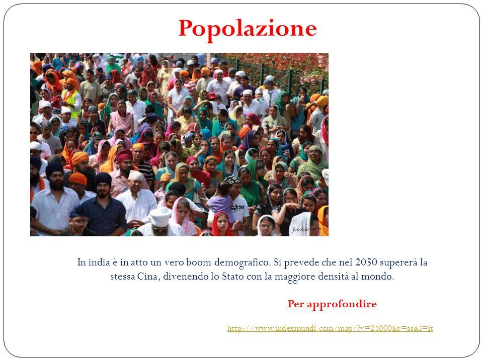 Popolazione È la più numerosa tra i continenti del mondo.