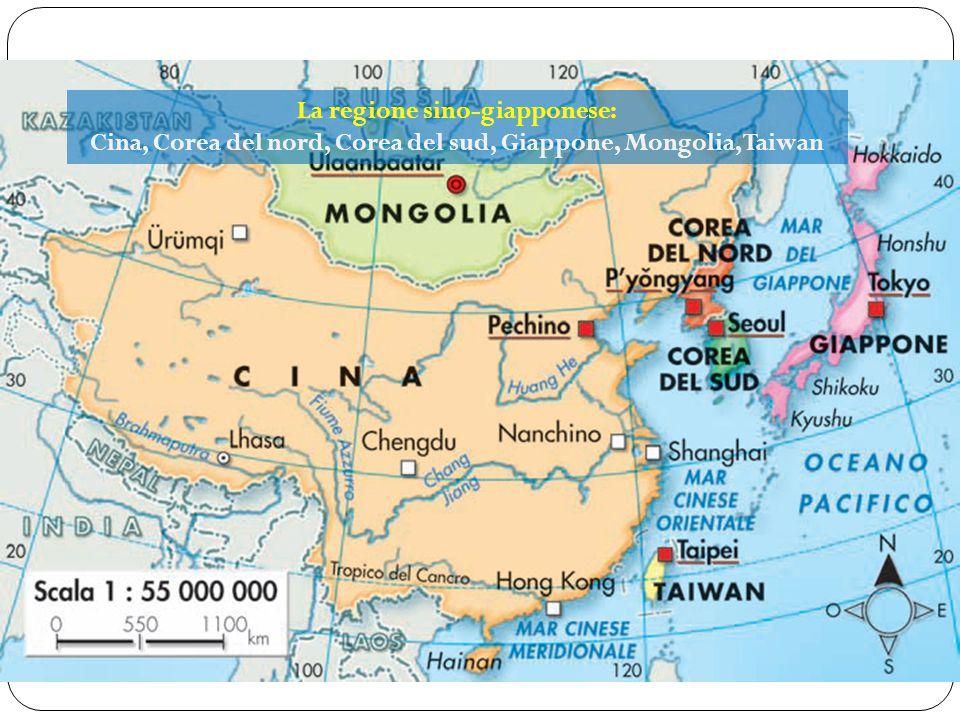 La regione sino-giapponese: