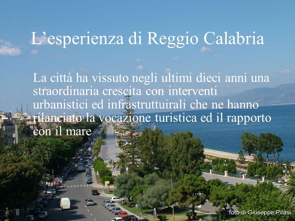 L'esperienza di Reggio Calabria