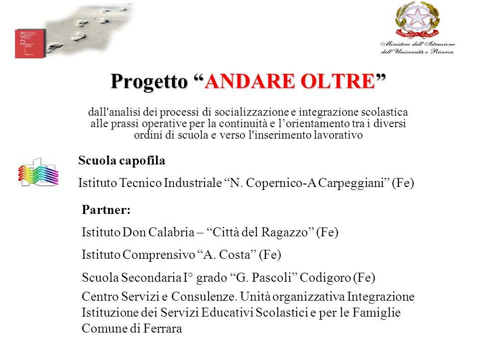 Progetto ANDARE OLTRE