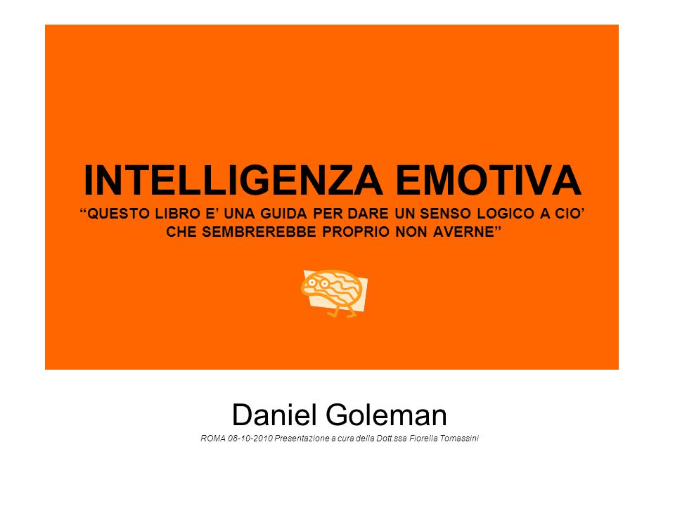 ROMA 08-10-2010 Presentazione a cura della Dott.ssa Fiorella Tomassini