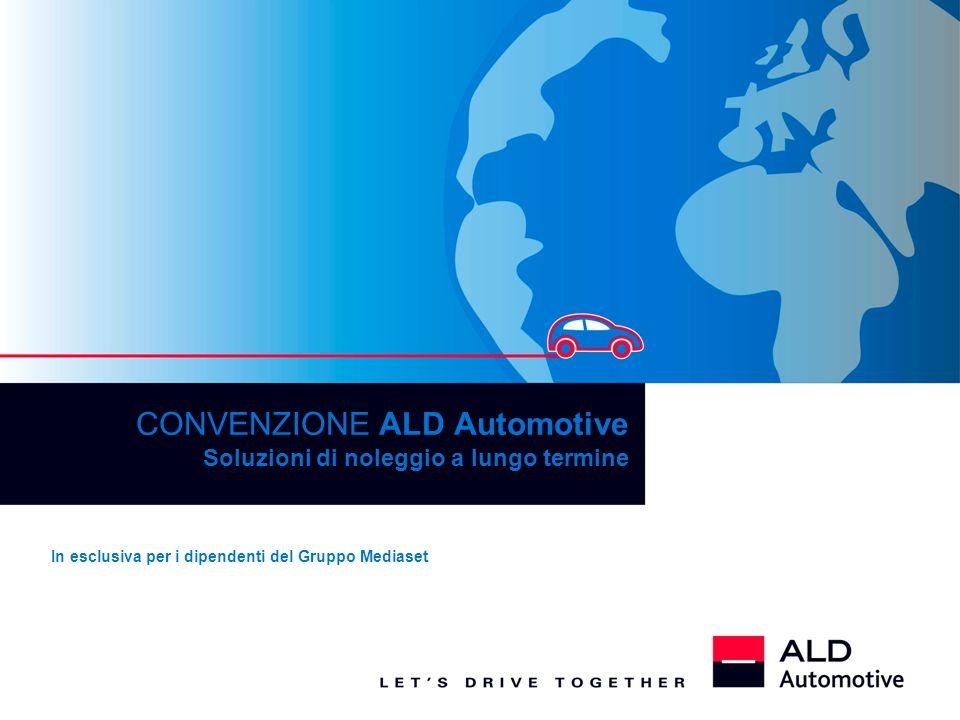 CONVENZIONE ALD Automotive Soluzioni di noleggio a lungo termine