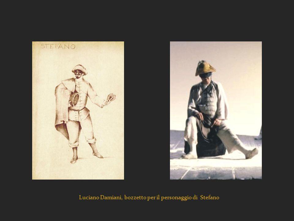 Luciano Damiani, bozzetto per il personaggio di Stefano