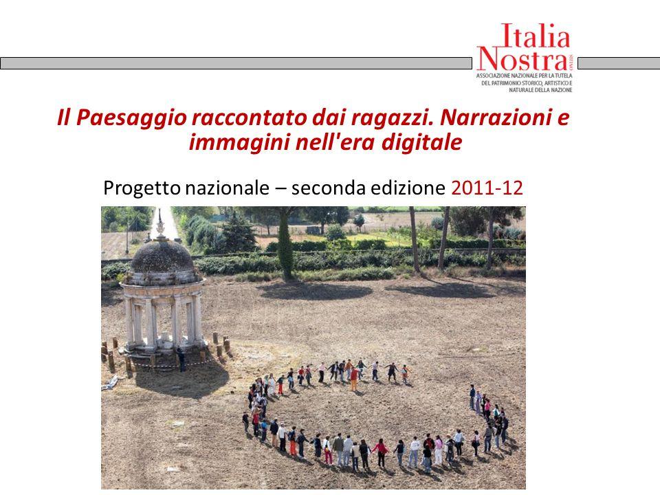 Progetto nazionale – seconda edizione 2011-12