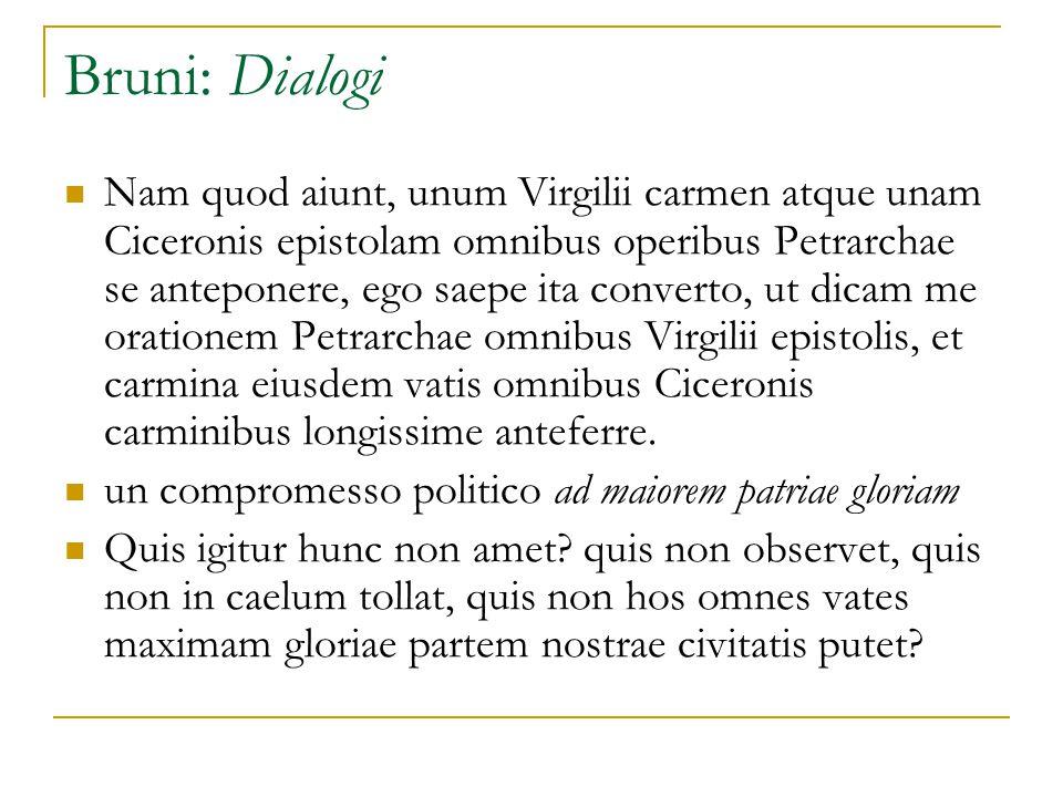 Bruni: Dialogi