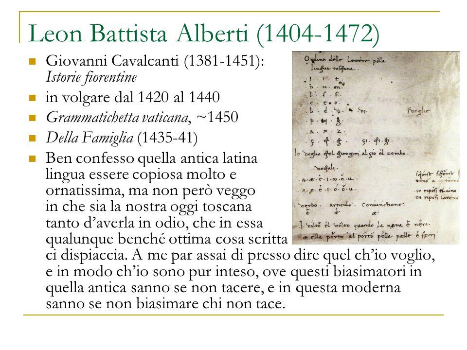 Leon Battista Alberti (1404-1472)