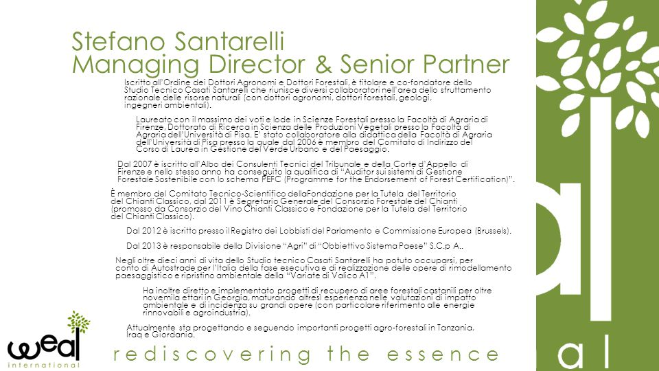 Managing Director & Senior Partner