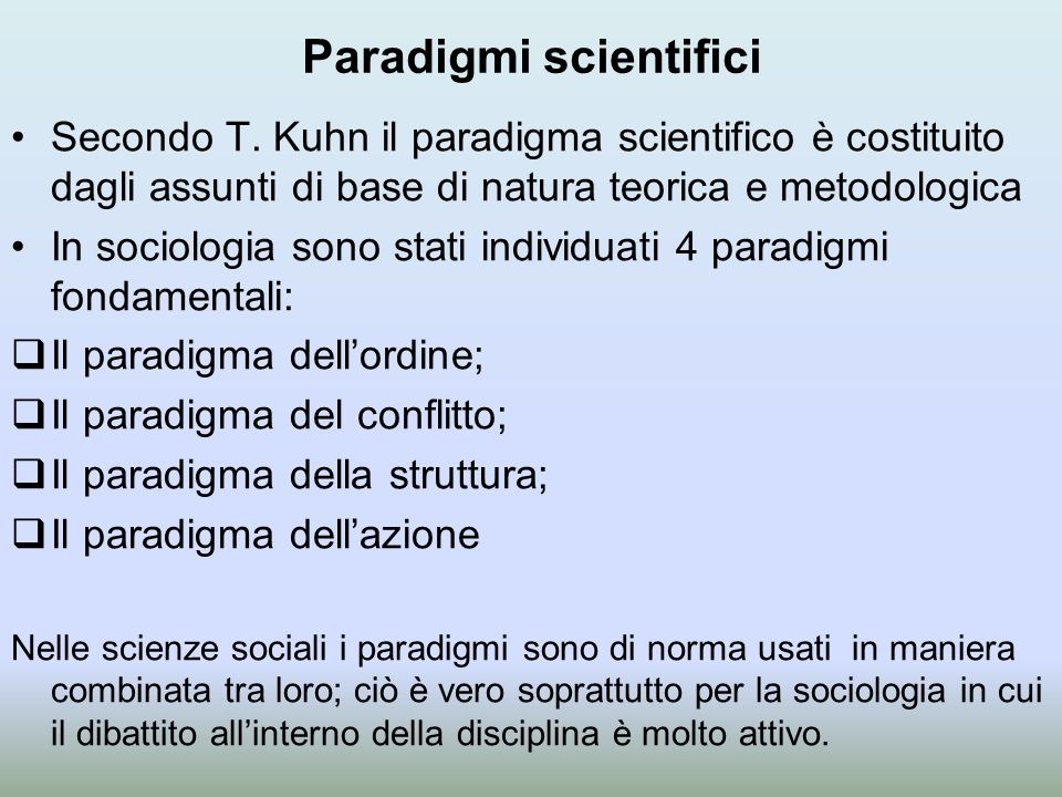 Paradigmi scientifici