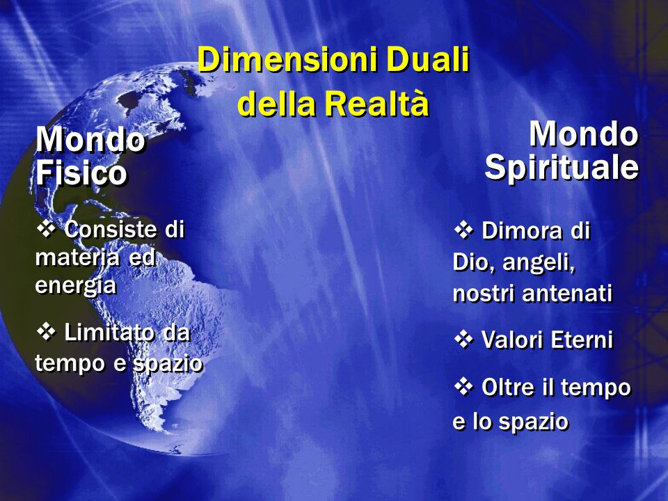 Dimensioni Duali della Realtà