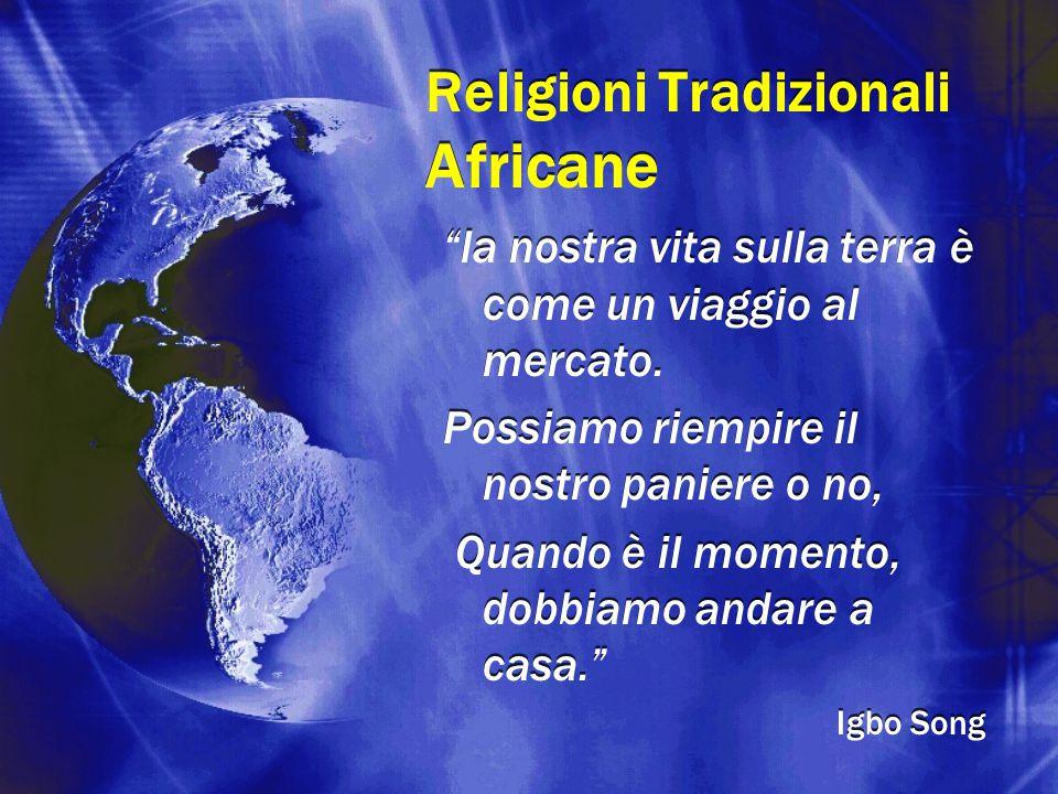 Religioni Tradizionali Africane