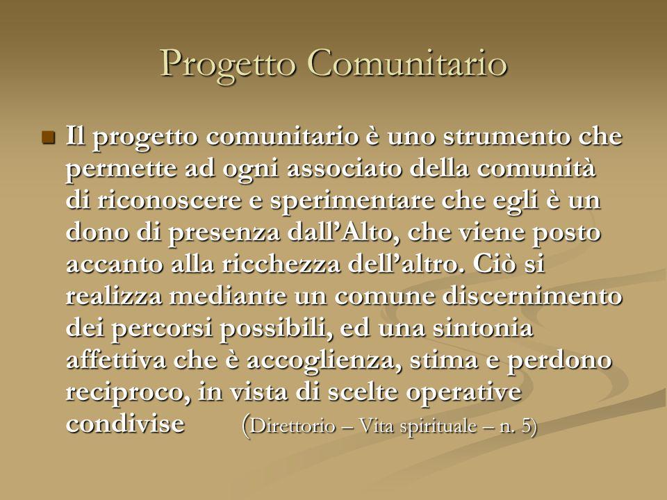 Progetto Comunitario