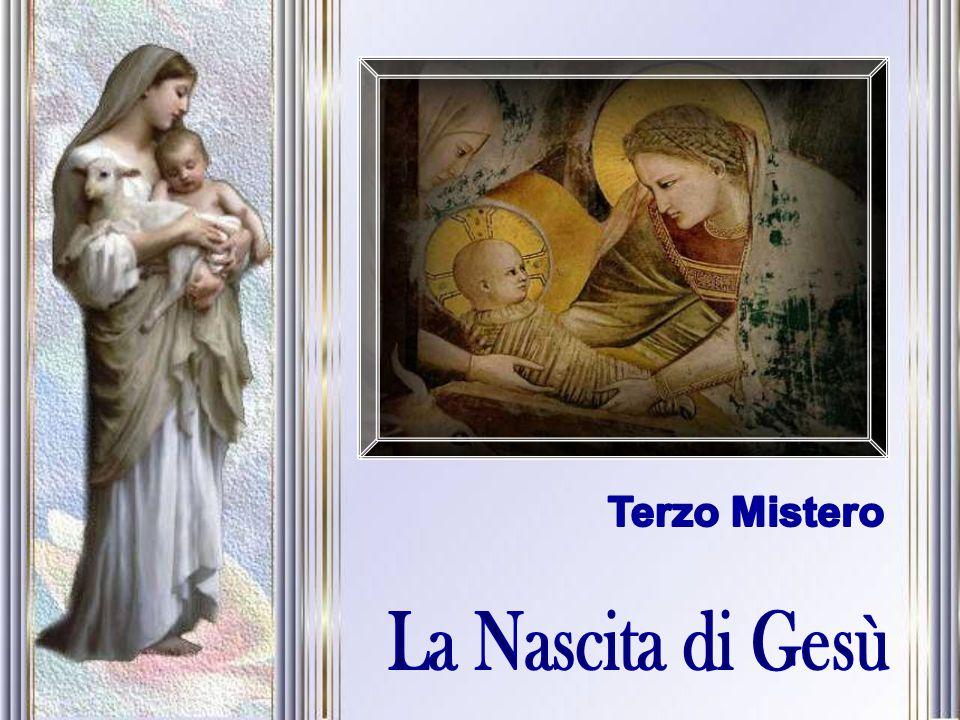 Terzo Mistero La Nascita di Gesù