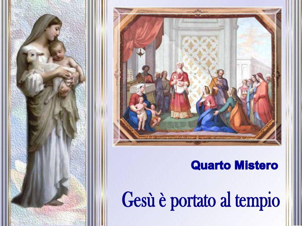 Gesù è portato al tempio